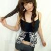 2010年新款金达莱平角分体 平角泳衣