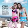 2010 路伊梵 修身泳衣、裙式泳裤、分体泳装0312