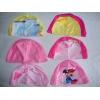 超低价 批发多个花色2-5岁锦氨纶 儿童泳帽 女童泳帽
