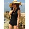 韩国连体三角游泳衣女性感显瘦泳装 两色可选