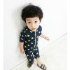 新款韩国儿童游泳衣 连体星星男童泳衣