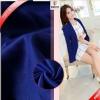 现货供应服饰面料 双面里布 涤纶针织布 连衣裙服装里衬里料